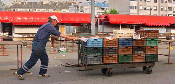 Život i značenja tržnice Trešnjevka