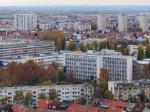 """Pogled s najvišeg kata hotela """"Panorama"""" prema jugozapadu [VR 2015.]"""