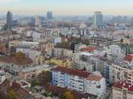 """Pogled s najvišeg kata hotela """"Panorama"""" prema jugoistoku [VR 2015.]"""