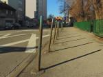 Prepreke protiv parkiranja automobila na pločniku Selske ceste [GP 2016.]