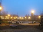 Rasvjetna tijela u parku u Zorkovačkoj/Kostelskoj ulici [VR 2016.]