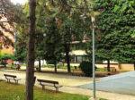 """Boćalište u dijelu parka oko """"Doma za starije osobe Trešnjevka"""" na Trgu Slavoljuba Pankale [GP 2016.]"""