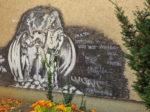 """Grafit """"zavjeta prijateljstva"""" u dvorištu Osnovne škole Kralja Tomislava [GP 2016.]"""