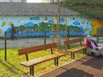 """Grafit na rubu parka u Adžijinoj ulici izvorno naručen od bivše pivnice """"Medvedgrad""""[GP 2016.]"""
