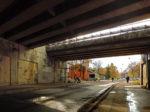 Zapušten prostor autobusnih stanica ispod Jadranskog mosta (formalno Savska cesta) [GP 2016.]