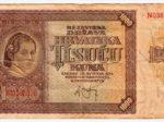 Novčanica Nezavisne Države Hrvatske od 1000 kuna iz 1941. [VT 2016.]