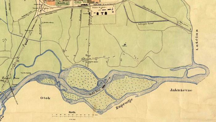 Plan Trnja iz 1898. godine [VR]