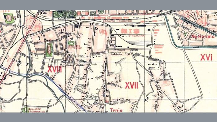 Plan Trnja iz 1929. godine [VR]