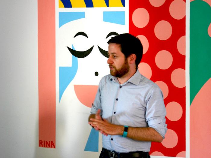 Prezentacija Andreasa Lindingera tokom seminara u prostorima Vox Feminae [SMK 2018.]