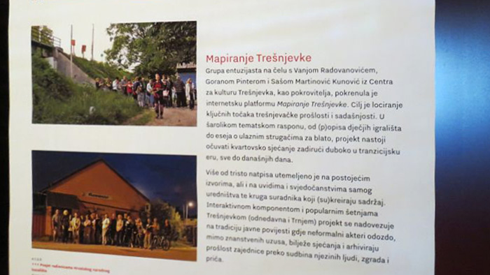 "Detalj s izložbe ""Trešnjevka – prostor i ljudi"" u MGZ [VR 2017.]"
