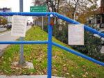 """Svjetleća """"instalacija"""" akcije """"IspeciPaReci"""" na Zagrebačkoj aveniji [SĐ 2018.]"""