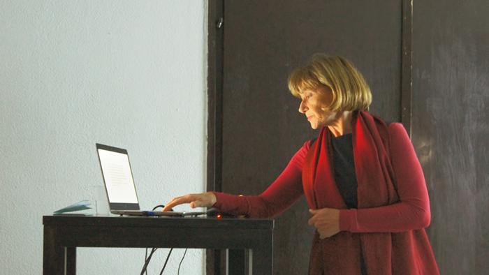 Scena sa Seminara; Izlaganje Višnje Kukoč o Splitu [GP 2019.]