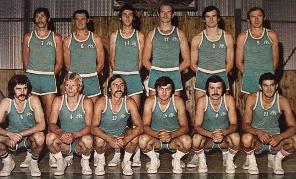 Fotografija sastava KK Industromontaža u sezoni 1973./1974. [FB]