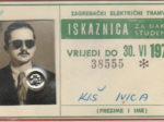 Godišnja studentska (i đačka!) iskaznica ZET-a za 1970. godinu [IK 2020.]
