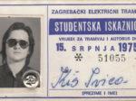 Godišnja studentska iskaznica ZET-a za 1975. godinu [IK 2020.]