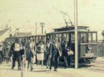 """Iz knjige """"Tramvaj u Zagrebu"""" - Okretište Savski most ~ 1920. [Trnje]"""