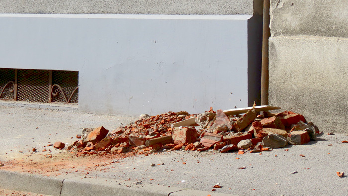 Posljedica potresa (22.3.2020.) u Valjavčevoj ulici [VR 2020.]