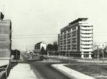"""Iz knjige """"Tramvaj u Zagrebu"""" - Križanje Savske i ulice grada Vukovara ~ 1960. [Trnje]"""