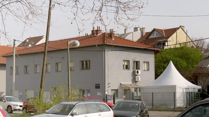 """Lokacija za """"trijažu"""" pri Domu zdravlja u Zvonigradskoj ulici [VR 2020.]"""
