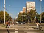 Križanje Selske i Horvaćanske ceste s neboderima na Knežiji [GP 2013.]