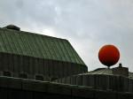 """Simbol Trešnjevke na krovu Kazališta """"Trešnja"""" [GP 2008.]"""