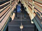 """Pogled """"kroz"""" nadvožnjak koji se, u stvari, sastoji od dva paralelna mosta. Snimio: Vanja"""