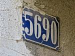 Nekadašnja katastarska numeracija u Adžijinoj ulici [VR 2013.]