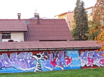 Grafit na Zagrebačkoj aveniji kod Počiteljske ulice [VR 2013.]