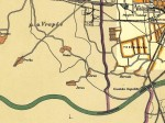 Pregledna karta - Stara Trešnjevka 1929.