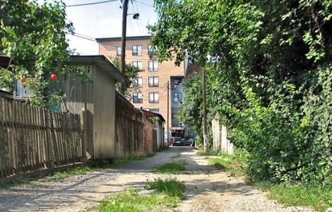 Neasfaltirane ulice Trešnjevke