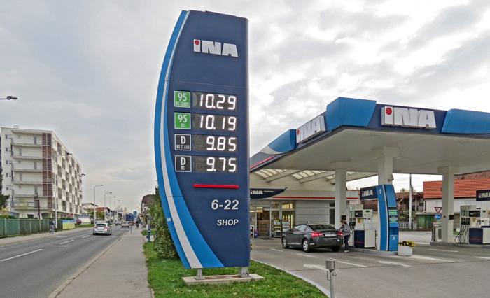Benzinske pumpe Trešnjevke