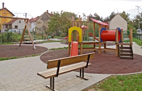 Dječja igrališta Trešnjevke