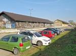 Divlji parking na Zapadnom kolodvoru uzduž Magazinske ceste [VR 2013.]