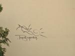 "Grafit na ""črnomerečkoj"" strani Zapadnog kolodvora [GP 2013.]"