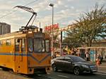 Tramvaj brusilica na prelasku preko Trešnjevačkog trga [GP 2013.]