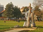 Spomenik Trešnjevčanima - žrtvama Domovinskog rata u Parku Stara Trešnjevka [GP 2013.]