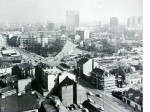 Trešnjevački plac iz zraka 1980. [Zlatko Dermiček]