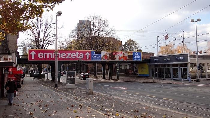 Željeznički nadvožnjak preko Savske ceste kod Crnatkove ulice
