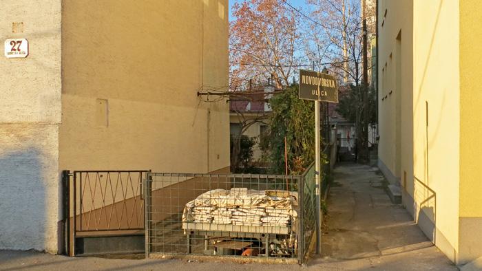 Najkraća ulica Trešnjevke i Zagreba: Novodvorska ulica