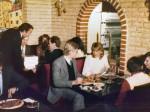 """Interijer pizzerije """"Purger"""" 80-ih godina (KS)"""