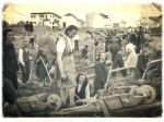 """""""Dobrovoljne"""" radne akcije krajem 40-ih - """"... Horvaćanska s veseljem na radu..."""" (autor nepoznat)"""