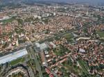 Fotomontaža položaja buduće zgrade na uglu Zagrebačke avenije i Ulice Hrvatskog sokola. [3L]