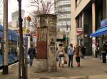 """Ruglo od """"oduška"""" nepoznate namjene na tramvajskoj stanici uz """"Cibona"""" centar [GP 2014.]"""