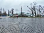 Ploha okretišta na Savskom mostu popločena granitnim kockama [GP 2014.]