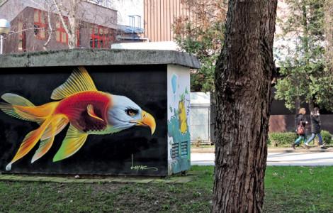Trešnjevački grafiti