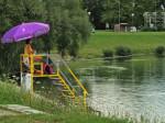 Jedna od promatračnica spasilačke službe na Velikom jezeru [GP 2014.]