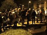 Sudionici šetnje po Ciglenici na granici Ciglenice - potoku Črnomercu [GP 2014.]