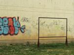 Stalak za isprašivanje tepiha u Ulici Grge Novaka [GP 2015.]