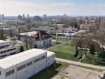 Trešnjevka gledana s terase zgrade u Magazinskoj ulici - pogled prema jugozapadu [VR 2015.]