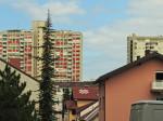 Pogled iz Gajeva na nebodere u Ulici braće Domany [GP 2015.]